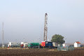 Oil Drilling Rig Royalty Free Stock Photo - 61448495