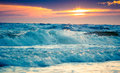 Sunset Sea Stock Images - 61449774