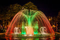 Colorful Dancing Fountain Stock Photography - 61453302