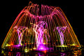 Colorful Dancing Fountain Stock Image - 61453351