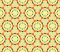 Vector Modern Seamless Colorful Geometry Petal Flower Mandala Pattern, Color Abstract Royalty Free Stock Photo - 61454675