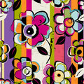 Seamless Flower Pattern Stock Image - 61459541