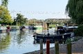 Boats On The River Great Ouse, Ely, Cambridgeshire Stock Images - 61470824