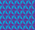 Vector Modern Seamless Colorful Geometry Hexagon Pattern, Color Blue Abstract Royalty Free Stock Photo - 61473975