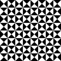 Vector Modern Seamless Geometry Pattern Tiles, Black And White Abstract Royalty Free Stock Image - 61474386