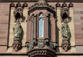 Statues On The Facade At Dragon Castle Royalty Free Stock Photo - 61475595