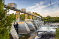 Hydroelectric Dam Royalty Free Stock Photography - 61484977