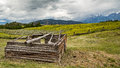 Old Cabin In Wyoming Stock Image - 61493151