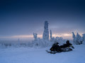 Finland Snowmobile Royalty Free Stock Image - 61497416