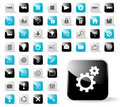 Glossy Icon Set For Website Applications Stock Photo - 6150590