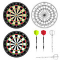 Darts Vector Stock Photos - 6151533