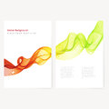 Abstract Template Color Flyer Royalty Free Stock Photo - 61504965