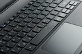 Closeup Of Laptop Touchpad Royalty Free Stock Images - 61538439