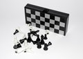 Board Game - Mini Magnetic Chess Set Royalty Free Stock Image - 61556526