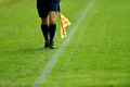 Soccer Assistant Referee Stock Photo - 61561480