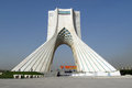 Azadi Tower, Tehran Royalty Free Stock Image - 61565316
