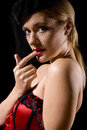 Cabaret Girl Stock Photography - 6161702