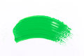 Green Stroke Of The Paint Brush Stock Photos - 61622943