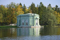 View Of The Pavilion Of Venus September Day. Gatchina Park, Leningrad Region Royalty Free Stock Image - 61639386