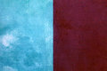 Red And Blue Shabby Paint Stucco Background Royalty Free Stock Images - 61657769