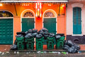 Cleaning Up Bourbon Street Royalty Free Stock Images - 61661909