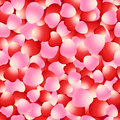 Red And Pink Rose Petals Seamless Pattern Stock Image - 61676051