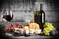 Wine And Cheese Stock Image - 61704231