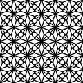 Black And White Lace Pattern Royalty Free Stock Images - 61706599