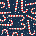 Christmas Candy Cane Seamless Pattern Stock Photo - 61712270