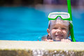 Adorable Little Girls At Mask And Goggles In Royalty Free Stock Photos - 61717908