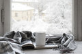 Cozy Winter Still Life Stock Photos - 61734603