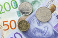 Swedish Currency Close Up Stock Image - 61750781