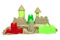 Kinetic Sand With Child Toys For Indoor Children Creativity Game Stock Photography - 61751342