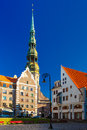 St. Peter S Church In The Old Town Of Riga, Latvia Royalty Free Stock Photography - 61753107