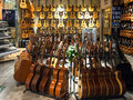 Musical Instrument Store Stock Photography - 61756692