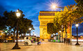 Arch Of Triumph, Paris Royalty Free Stock Photography - 61763297