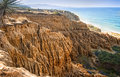 Eroded Cliffs, Ocean, San Diego, California Royalty Free Stock Photography - 61782667