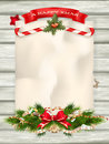 Christmas Fir Tree. EPS 10 Royalty Free Stock Images - 61793849