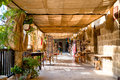 NICOSIA, CYPRUS - AUGUST 10, 2015: Buyuk Han (The Great Inn) Medieval Caravanserai That Turned Into Touristic Center With An Antiq Royalty Free Stock Photos - 61811138