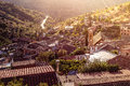 Gourri, Traditional Mountain Village At Early Morning. Nicosia D Stock Images - 61811264