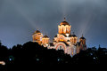 Church Of St. Marco At Night. Belgrade, Serbia Royalty Free Stock Photo - 61814215