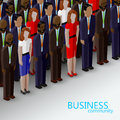 Vector 3d Isometric  Illustration Of Business Or Politics Community. Royalty Free Stock Photo - 61819345