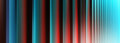Vertical Vivid Red Cyan Digital Curtain Abstraction Royalty Free Stock Photography - 61823467