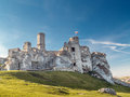 Ruins Of Medieval Castle Ogrodzieniec Stock Images - 61823934