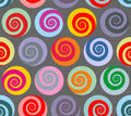 Colorful Seamless Pattern Spiral. Retro Abstract  Stock Photo - 61864190