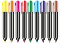 Markers Royalty Free Stock Photography - 61864947