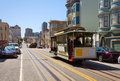 Hyde Street View And San Francisco Tram In Summer Royalty Free Stock Photo - 61878325