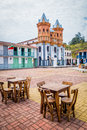Beautiful Old Town Replica, Guatape, Colombia Stock Photography - 61919892