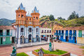 Beautiful Old Town Replica, Guatape, Colombia Royalty Free Stock Photos - 61920048