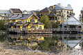 Blue Mountain Village - A Four Season Resort In Ontario, Canada Royalty Free Stock Images - 61958759